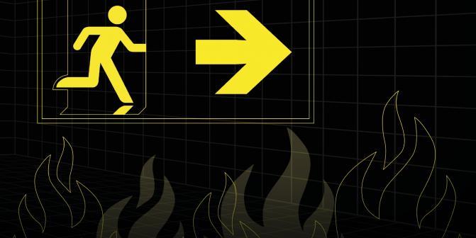 Brandschutz in Gebäuden mit alpex F50 PROFI und alpex L
