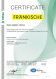 Cертификат – ISO 50001 (английский)