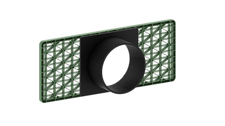 Anschlussplatte Rigofill® inspect
