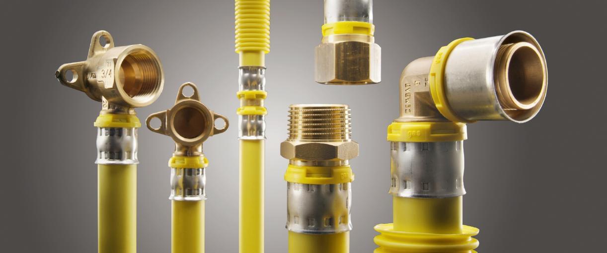 alpex-gas® - Sichere Gasinstallation für Ein- und Mehrfamilienhäuser*