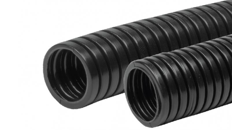 FPDS - Corrugated conduit with excellent fatigue strength and weathering resistance, PA12 MOD BS