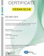 ZERTIFIKAT – ISO 9001 (en)