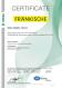 Certifikát – ISO 50001 - DE (angličtina)