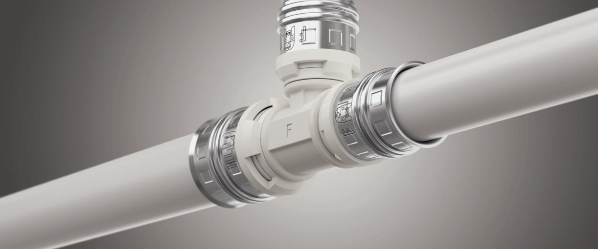 alpex-duo® XS / turatec multi - multilayer composite pipe system