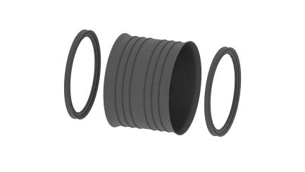 Coupling for distribution pipe