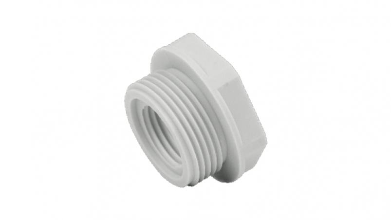 NRPA-M - Thread reducer, hexagon, plastic, metric