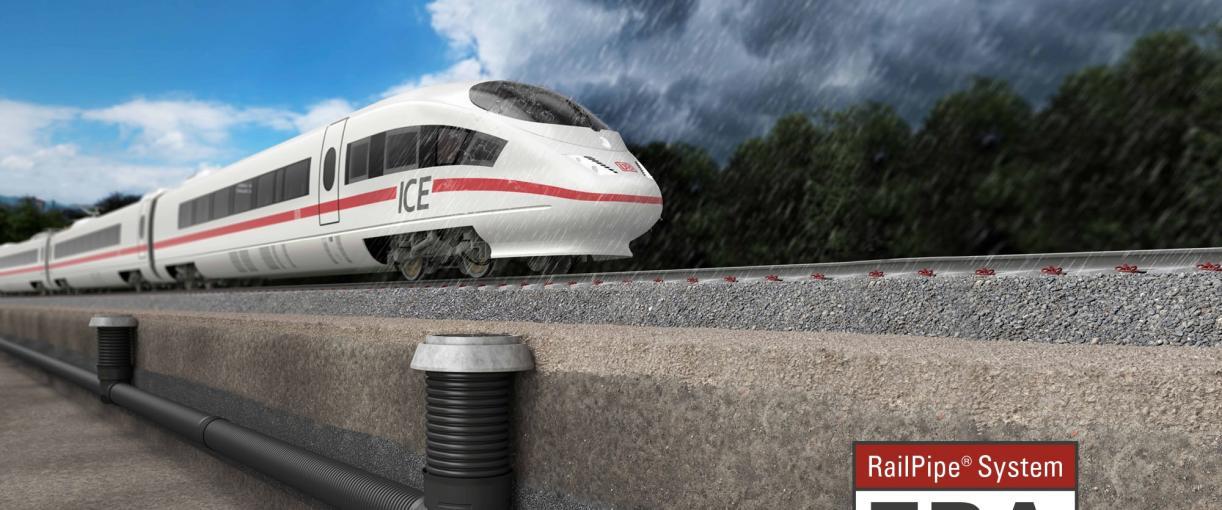 Optimale Entwässerung von Bahnanlagen
