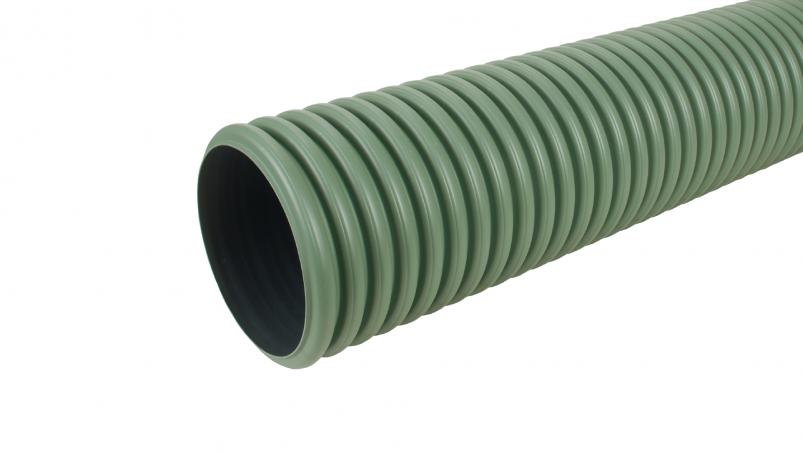 MuriPipe unperforated swale pipe