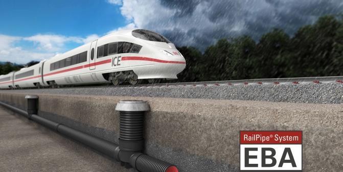 Bahnanlagenentwässerung von FRÄNKISCHE