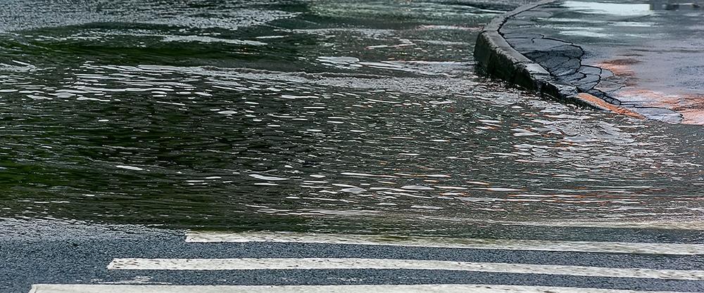 Was tun bei Urbanen Sturzfluten?