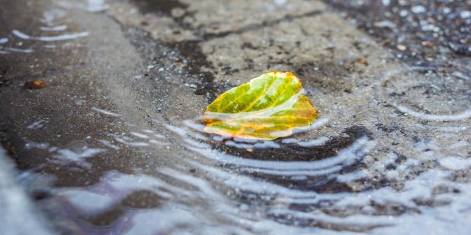 Обработка дождевой воды