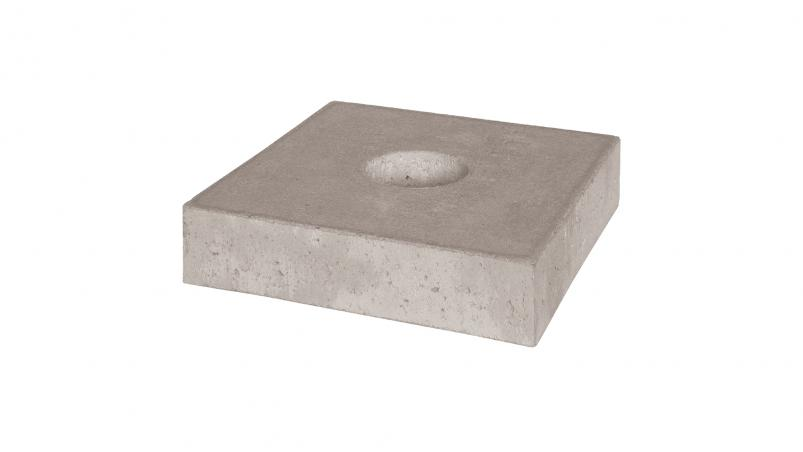 Concrete cover for Walu end cap