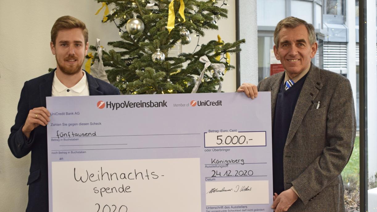 FRÄNKISCHE spendet 5.000 Euro