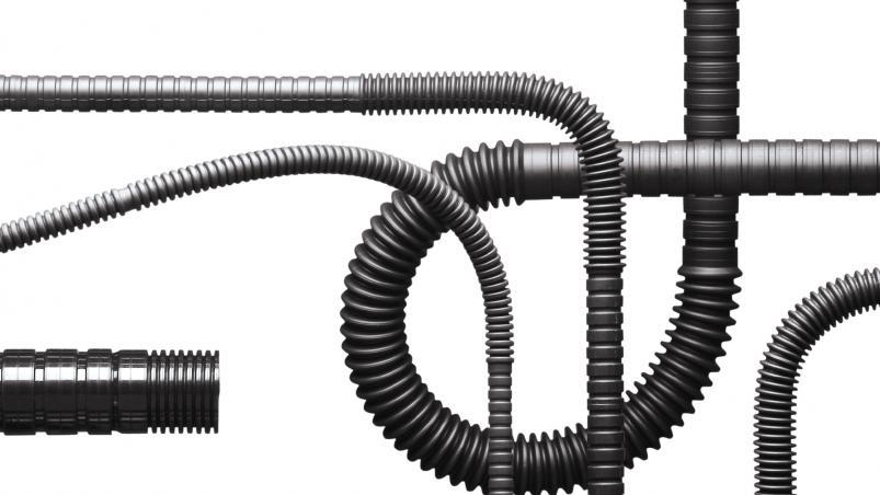 Corrugated tubing -  Channel-flex profile