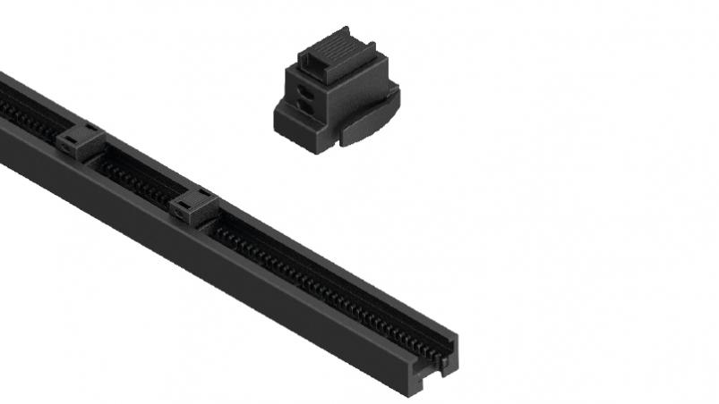 CRPA/CXPA - Mounting rail with slot nuts