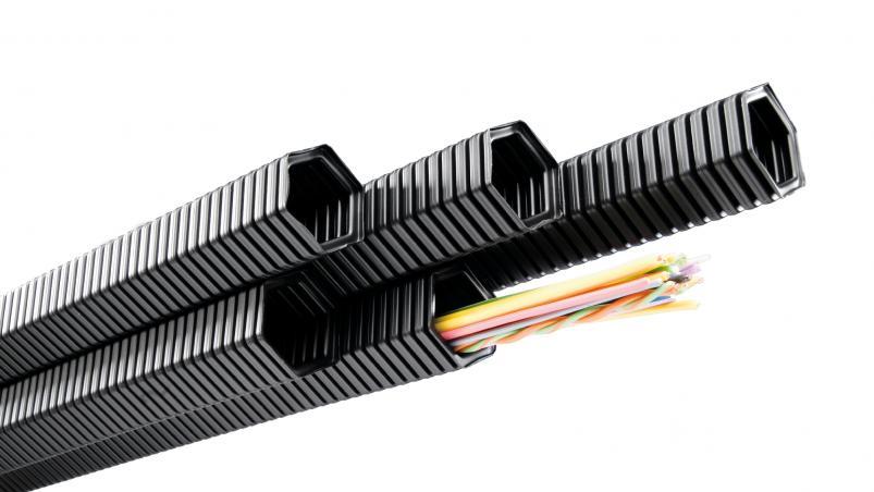 Corrugated tubing - Hexagonal profile