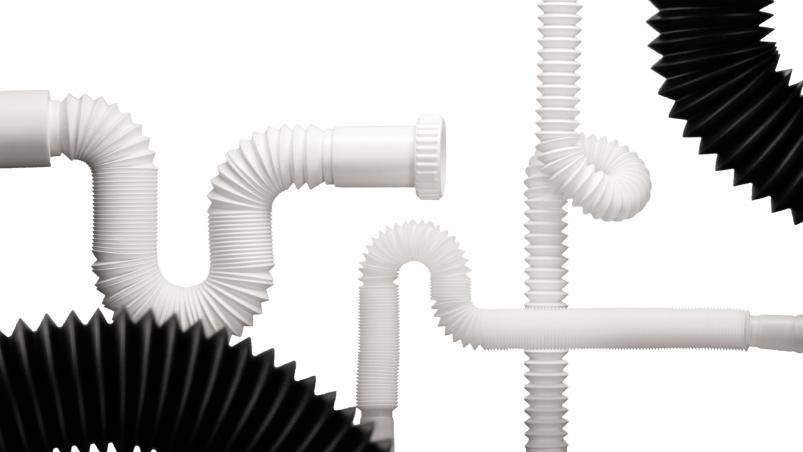 Sifonové hadice pro sanitární techniku