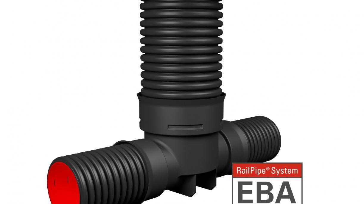 RailPipe Entwässerung Bahnanlage