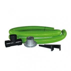 Tree ventilation and irrigation set