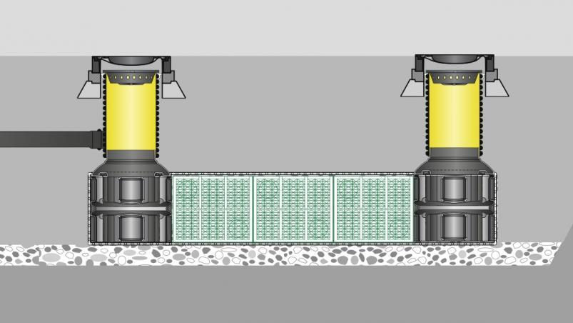Systém Rigofill inspect pro vsakování