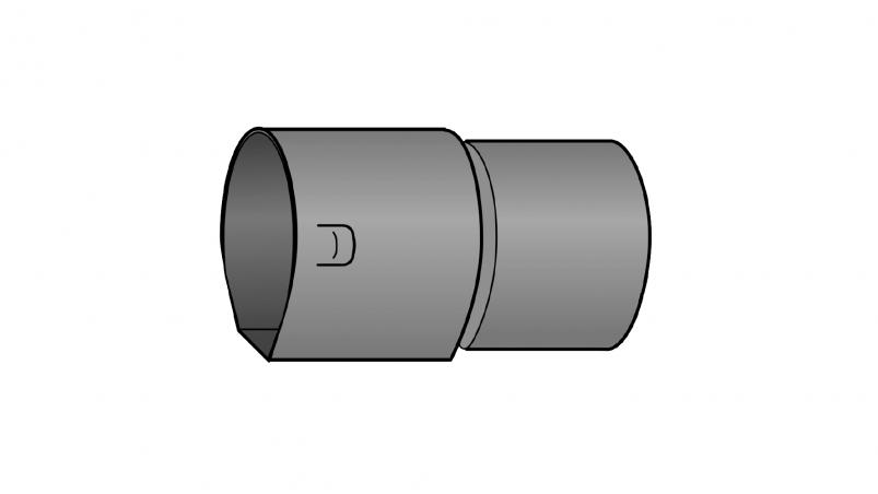 KG adaptor with KG spigot end Strasil