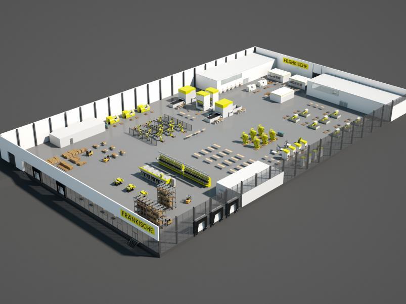 Электромонтаж в промышленном сооружении