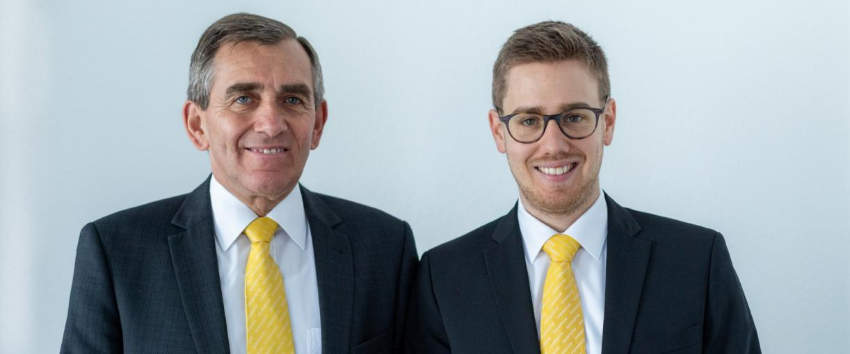 Julius Kirchner is now Executive Vice-President of the FRÄNKISCHE Group