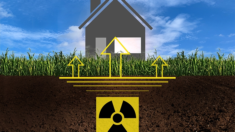 ReMo click prevents humidity and harmful radon from entering the building through the foundation slab.